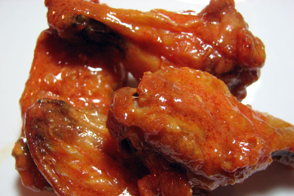 Oven fried chicken wings